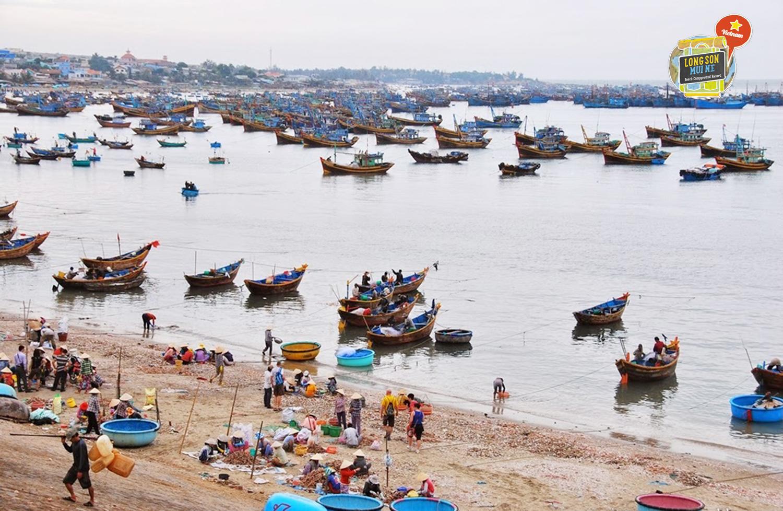 fishing village Phan thiet