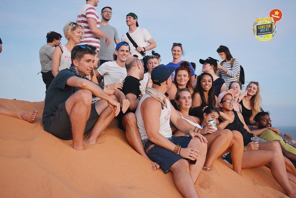 white Dunes tours Phan thiet